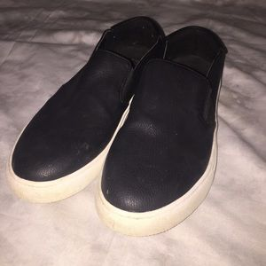 Kenneth Cole Reaction Leather Slip-on Sneakers